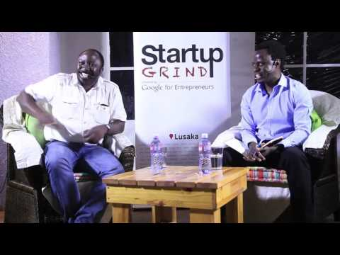 Paul Nyambe (Zamgoat) at Startup Grind Lusaka