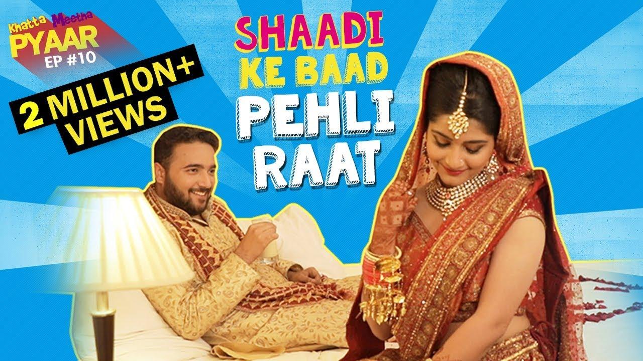 Download Shaadi Ke Baad Pehli Raat | Khatta Meetha Pyaar Ep -10 | Life Tak