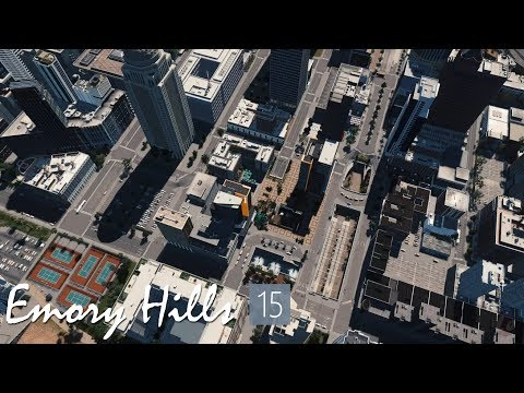 Oceanside Plaza, finishing touches - Cities Skylines: Emory Hills - 15 |