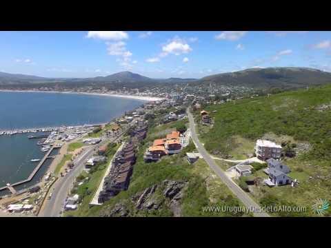 Video aéreo de Punta Fría, Piriápolis, Maldonado, Uruguay Desde Lo Alto