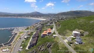 Video aéreo de Punta Fría, Piriápolis, Maldonado, Uruguay D…
