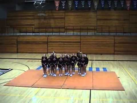 Ames High School State Competition Routine 2005