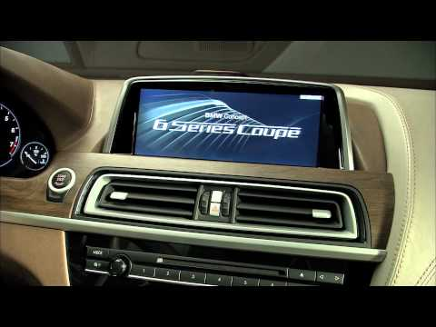 BMW 6 Series Coupe Concept (F12) - First interior high def video