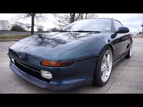 1991 Toyota MR2 // Review!