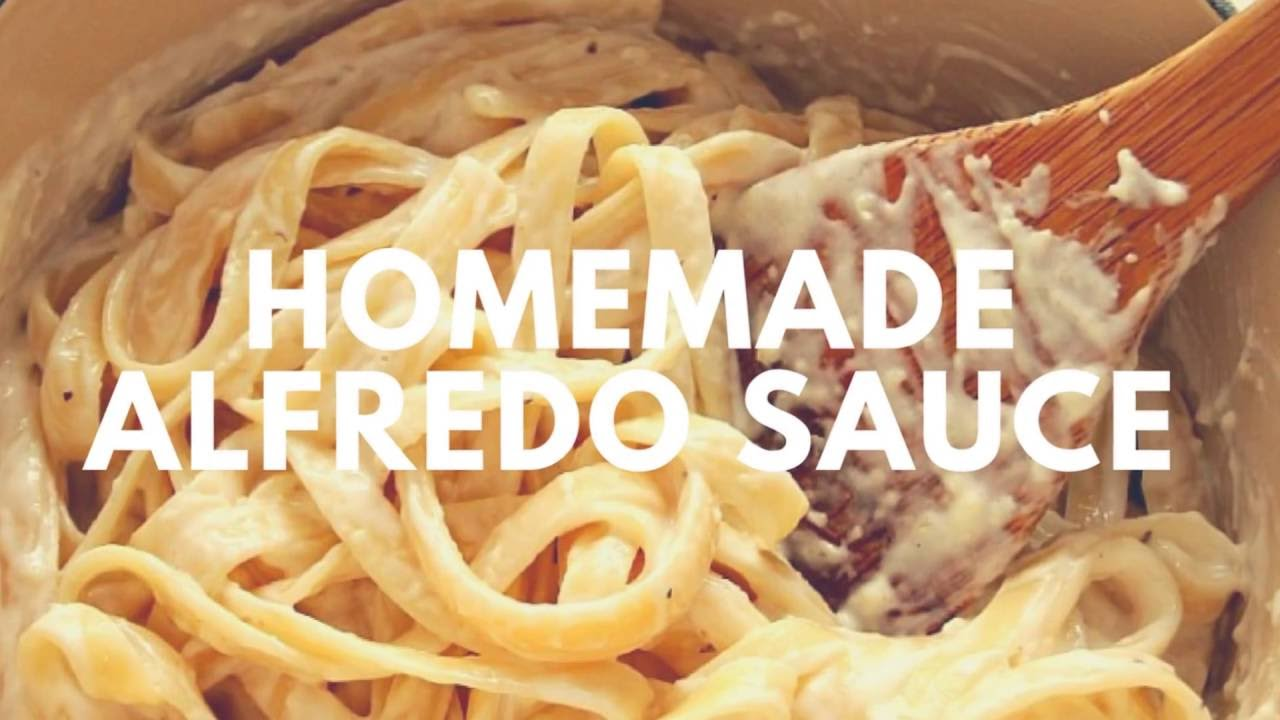 Homemade Alfredo Sauce Recipe | Crunchy Creamy Sweet