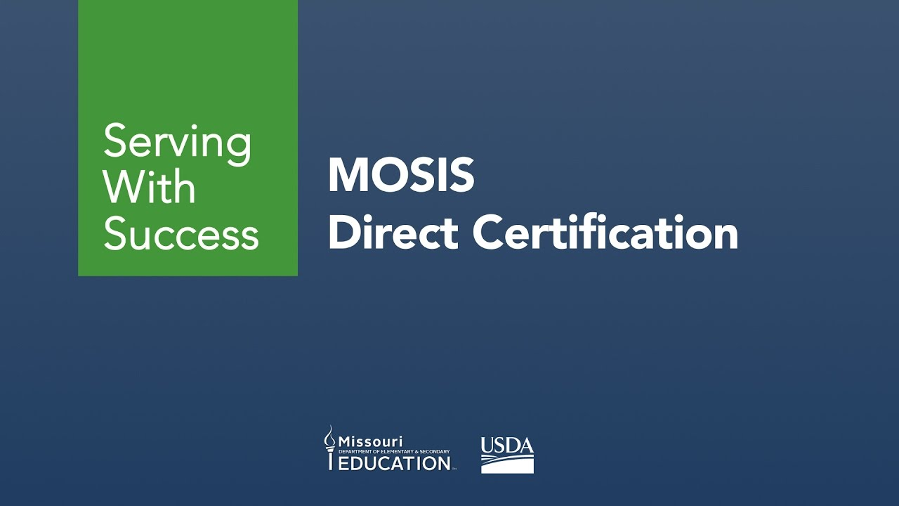 Direct certification overview youtube direct certification overview xflitez Images