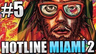 HOTLINE MIAMI 2 Gameplay Part 5 - MURDER FISTS - Let
