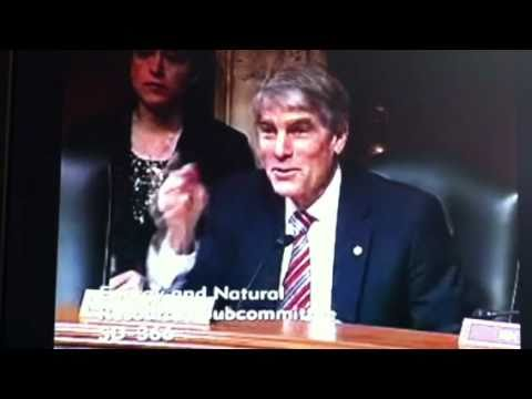 Senator Udall asks NPS Director Jon Jarvis about special use fees for climbers