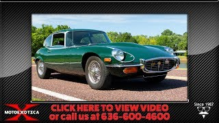 1971 Jaguar E-Type Coupe Series III 2+2 V12 -- For Sale @ MotoeXotica