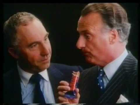 Cadbury's Wispa - Paul Eddington and Nigel Hawthorne