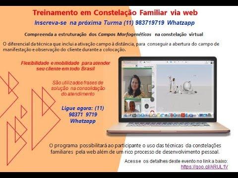 Certificação Internacional para Constelação Familiar via WEB