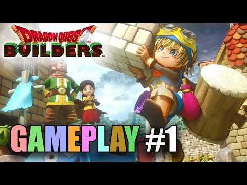 Dragon Quest Builders GAMEPLAY #1 - Like Minecraft, but FUN!