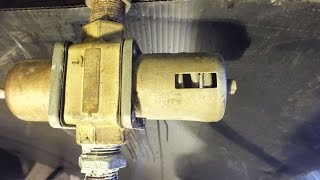 A look at the water source heat pump parts