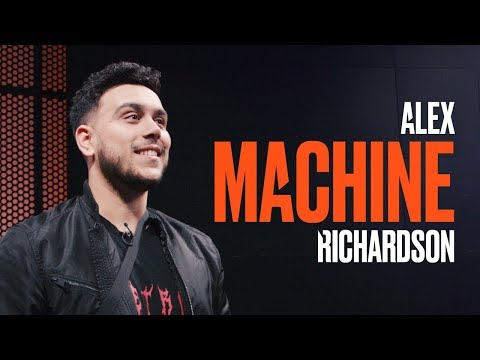 "Welcome to the #LEC, Alex ""Machine"" Richardson!"