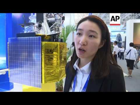 China showcases latest space developments