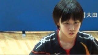 TOKYO OPEN 2013 TableTennis 第65回東京卓球選手権大会 MORIZONO Mizuk...