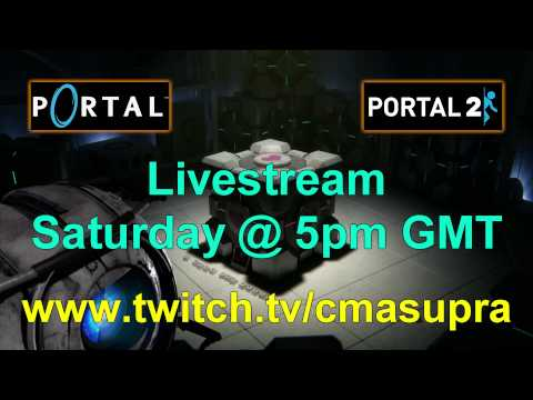 Portal 1 & 2 Livestream This Saturday