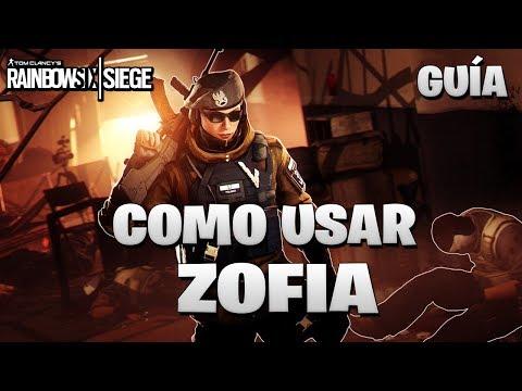 Como USAR a ZOFIA | GUIA ZOFIA | Caramelo Rainbow Six Siege Español