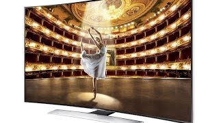 Samsung World's First Giant Curved UHD 4K TV - Review !