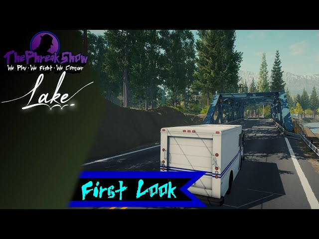 First Look - Lake - Small Town Peace!