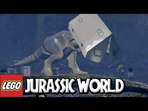 LEGO Jurassic World  8 CORRE QUE LÁ VEM O T REX DE NOVO