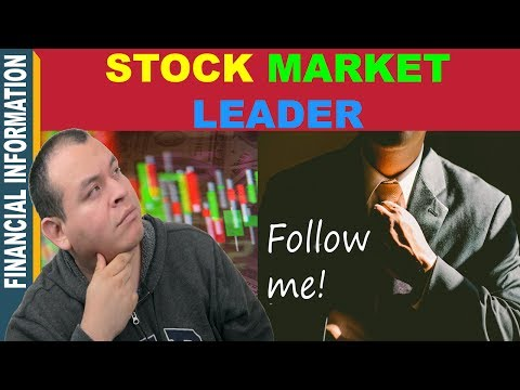 Stock Market Leader🤔   Why Watch and Follow Stock Market Leaders