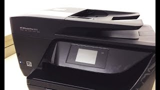 HP OfficeJet Pro 6970 / 6975 All-in-One Printer Unboxing