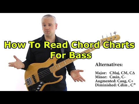 Reading Chord Symbols For Bass Beginners
