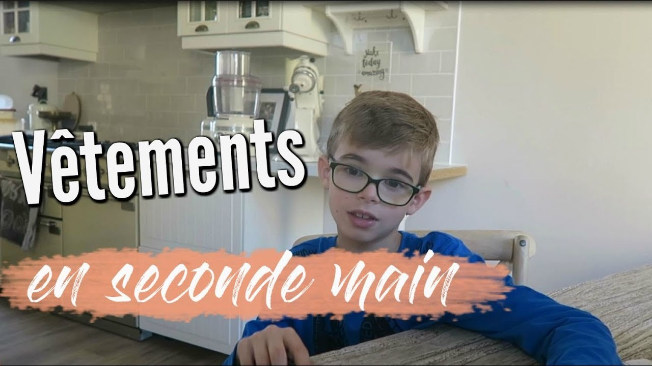 747d238a1536f ❥ SHOPPING ÉCOLO SECONDE MAIN VINTED  VLOG FAMILLE  634 ...