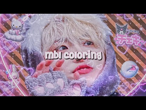 Mbl Coloring Tutorial Videostar Youtube