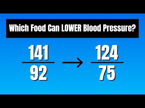 One Food Lowered My Wife's BP by 15-20 Points (Blood Pressure)
