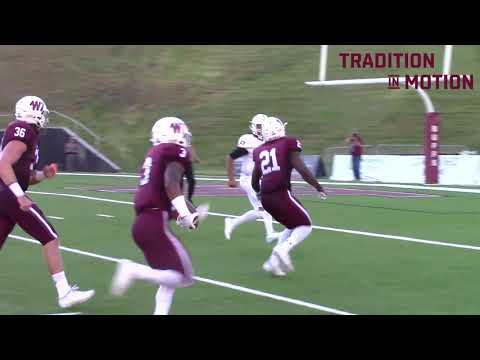 WT Football vs Oklahoma Panhandle State University Highlights (9-8-18)