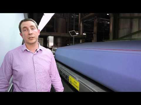 visite de l 39 usine balsan fabricant fran ais de moquettes en l s et en dalles youtube