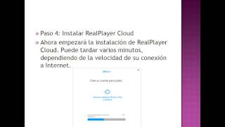 como descargar e instalar RealPlayer Cloud