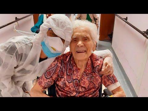 شاهد: إيطالية عمرها 103 أعوام تقهر كورونا بالماء ومخفضات الحرارة فقط…  - نشر قبل 4 ساعة