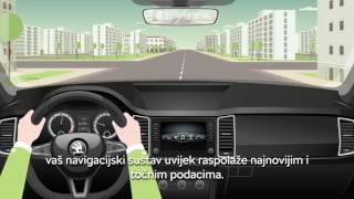 Infotainment Online usluge Škoda