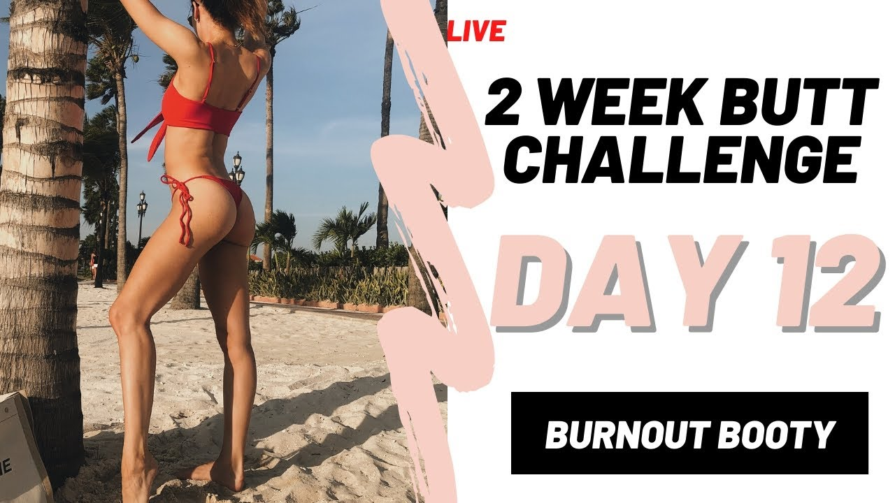 IMPROVE YOUR BOOTY IN 2 WEEKS | LAST DAY! | FITNESS CHALLENGE