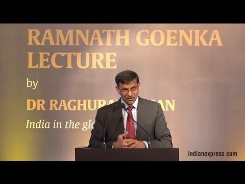First RNG Lecture Full Event : RBI Governor Dr Raghuram Rajan On India In The Global Economy