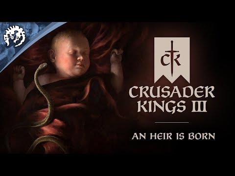 Crusader Kings 3 - Announcement Trailer - An Heir is Born
