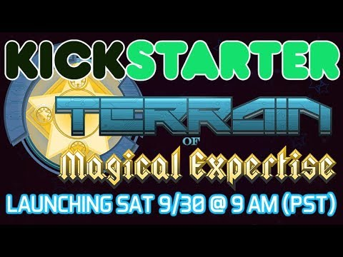 TOME RPG Kickstarter - Launching Sat. 9/30 @ 9 AM (PST)