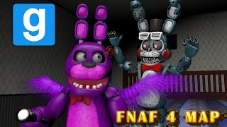 DEFEAT THE NIGHTMARE || Gmod FNAF 4 Mini-Game || Zany Gmod #4