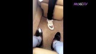 Wizkid & Davido Enjoy the Private Jet life!