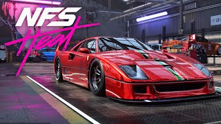 SO FAST !!! Ferrari F40 Build - NEED FOR SPEED HEAT Gameplay Walkthrough Part 29