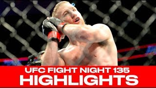 UFC Fight Night 135 Highlights: Justin Gaethje Knocks Out James Vick In Lincoln