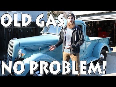 OLD GAS? NO PROBLEM!