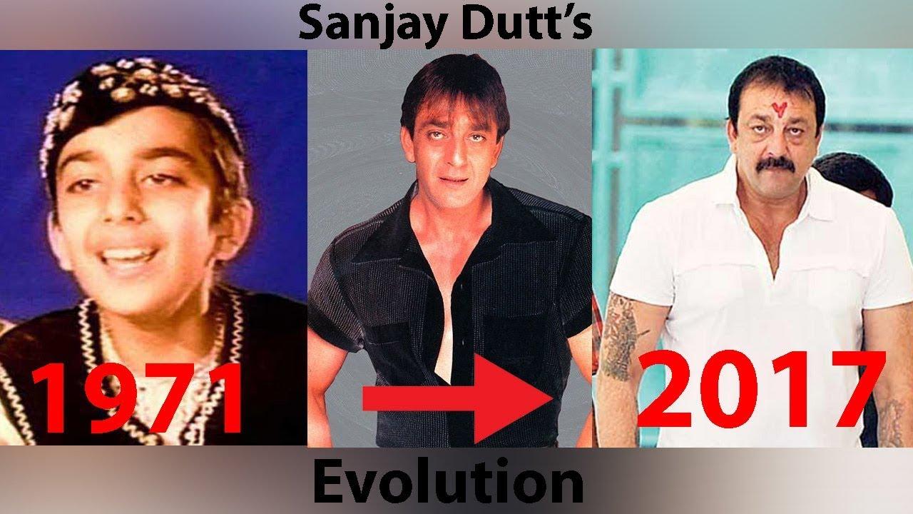 Download Sanjay Dutt Evolution 1981-2018   Sanju 2018   Biography  