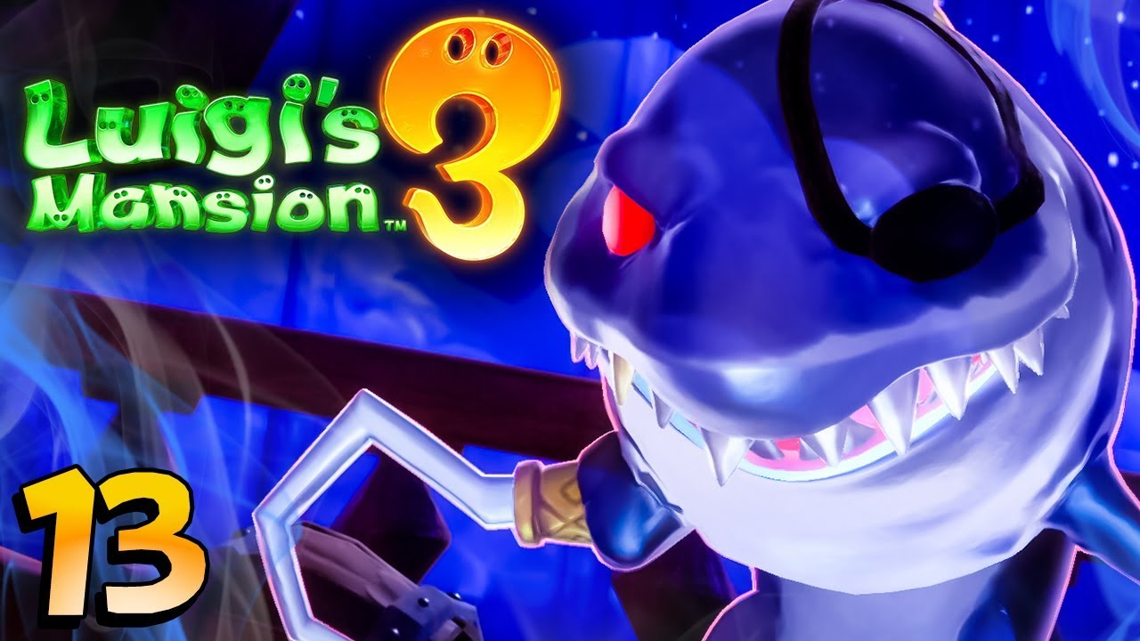 Luigi S Mansion 3 Le Requin Pirate Du Navire 13 Youtube