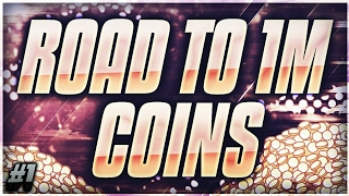 ROAD TO A MILLION COINS #1 | THE BEGINNING | NBA LIVE MOBILE!