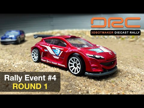 Diecast Rally Championship #4 - Round 1 | DRC Car Racing Series