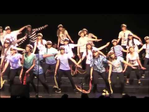Sauk Prairie Middle School show choir Soaring Sound 2017 at Sauk Prairie Invitational